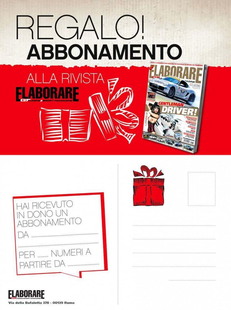 Regalo abbonamento rivista ELABORARE