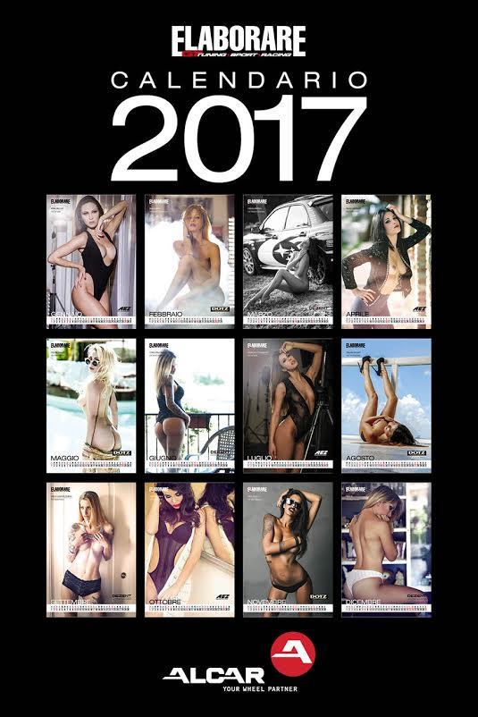 Calendario 2017 Miss Girl Elaborare