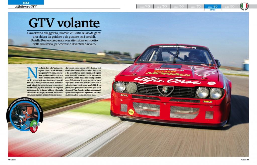 Test Alfa GTV