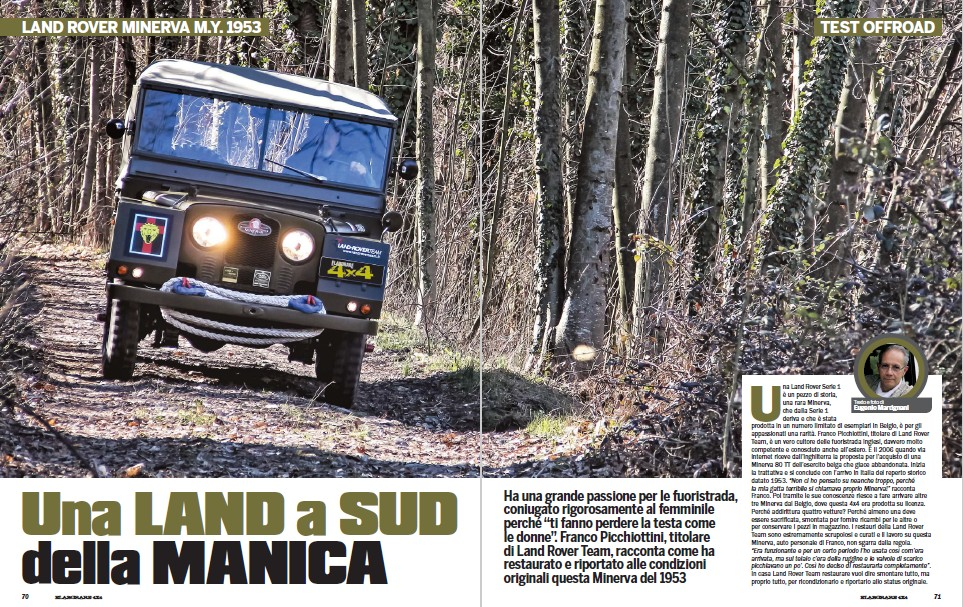 Land Rover Minerva '58