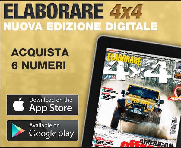 APP digitale rivista Elaborare4x4